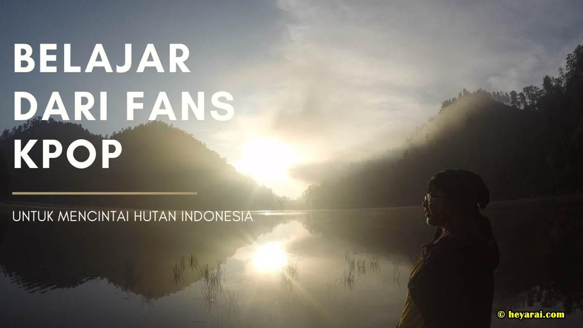perlindungan hutan di Indonesia