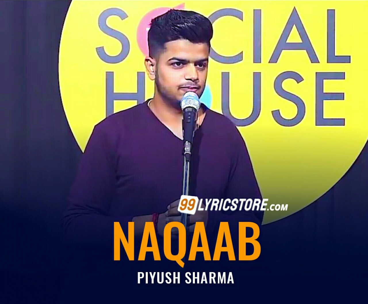 This beautiful Poetry   'Naqaab' has written and performed by Piyush Sharma on The Social House's Plateform.