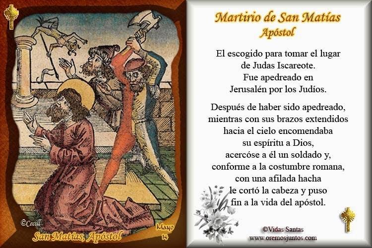 174 Blog Cat 243 Lico Gotitas Espirituales 174 Im 193 Genes De San Mat 205 As Ap 211 Stol 14 De Mayo
