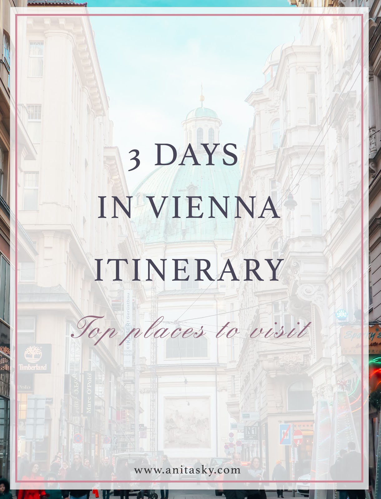 3 days in Vienna Itinerary