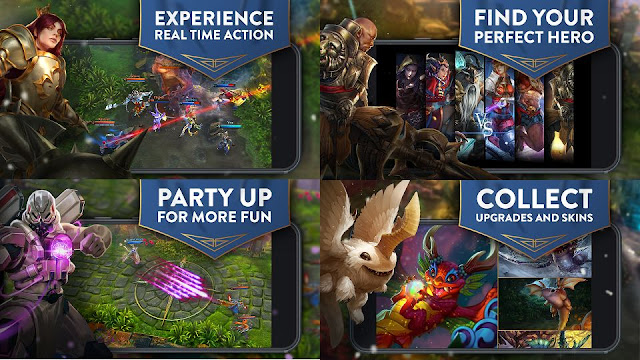 Download Game MOBA Vainglory 2.11.1 Terbaru Full DATA APK