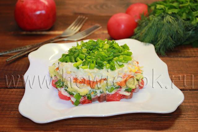 рецепт салата семга под шубой