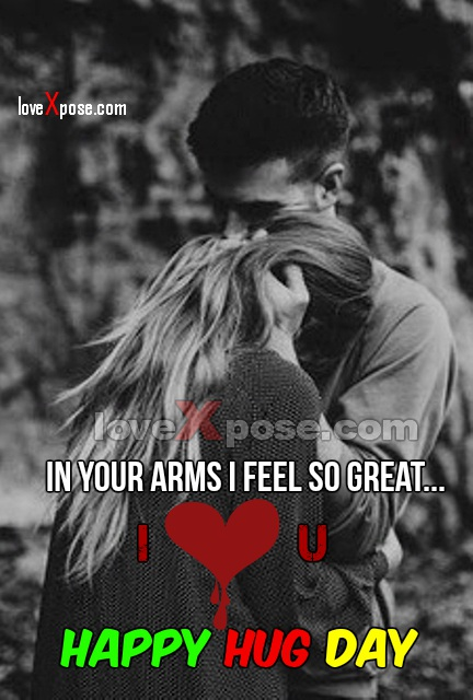 Happy Hug Day facebook whatsapp