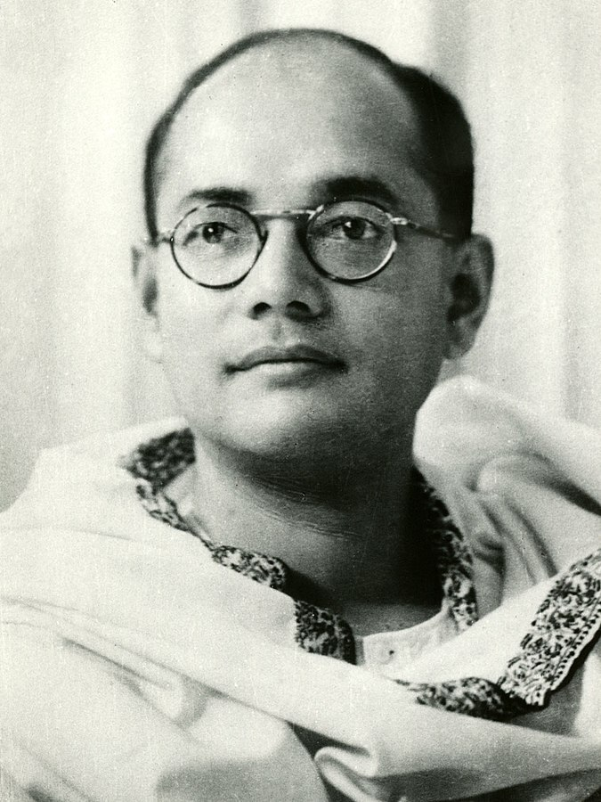 A great freedom fighter who organized forces on foreign soil - Netaji Subhash Chandra Bose