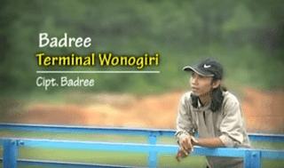 Lirik Lagu Terminal Wonogiri - Badree