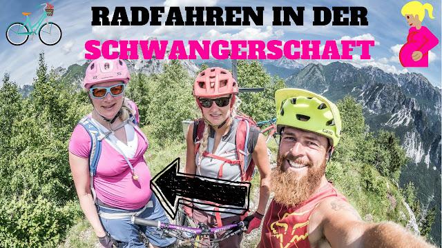Mountainbike Sport Schwangerschaft Update 9. Monat