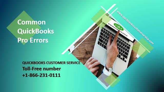 Some Common QuickBooks Pro Errors in 2021-2022