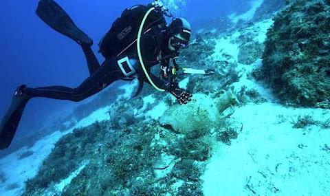 Kolosszális hajóhoz tartozhatott az Égei-tengerben felfedezett ókori horgonydarab