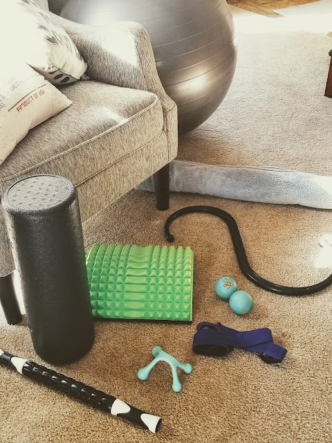 My fitness equipment used at home.