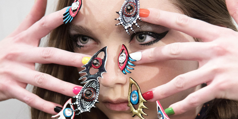 The 11 Craziest Nail Trends We've Seen This Year