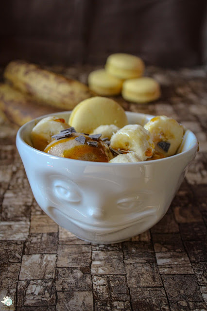 Bananeneis ohne Zusatz von Zucker oder Eis