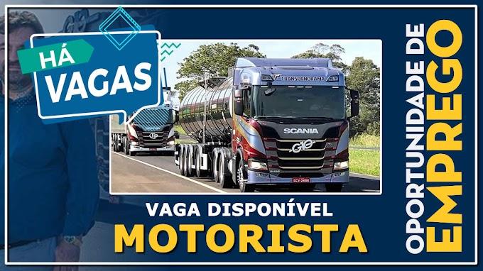 Transportadora Transpanorama abre vagas para motorista carreteiro