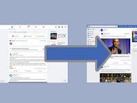 طريقة الرجوع الى التصميم القديم الكلاسيكي للفيسبوك على جميع متصفحات الويب