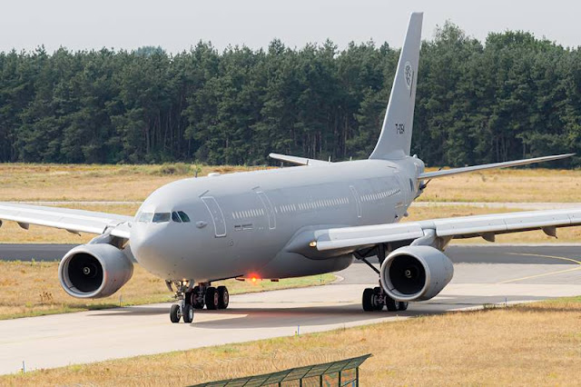 NATO multinational tanker unit receives second A330 MRTT