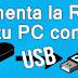 Cómo Utilizar Pendrive Como Memoria Ram y ACELERAR PC