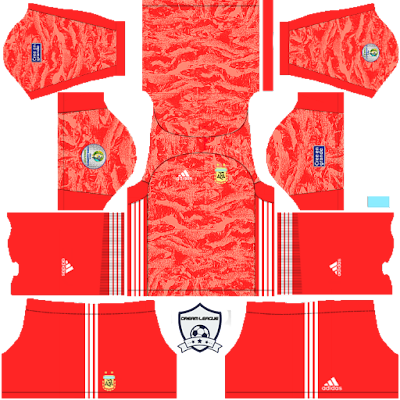argentina 2019 copa america goalkeeper away kit dls
