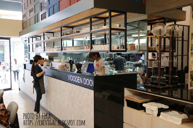 IMG 0609 - 【台中南屯】木門咖啡 Wooden Door*與大自然結合的咖啡廳。清新味蕾的觸動與綻放