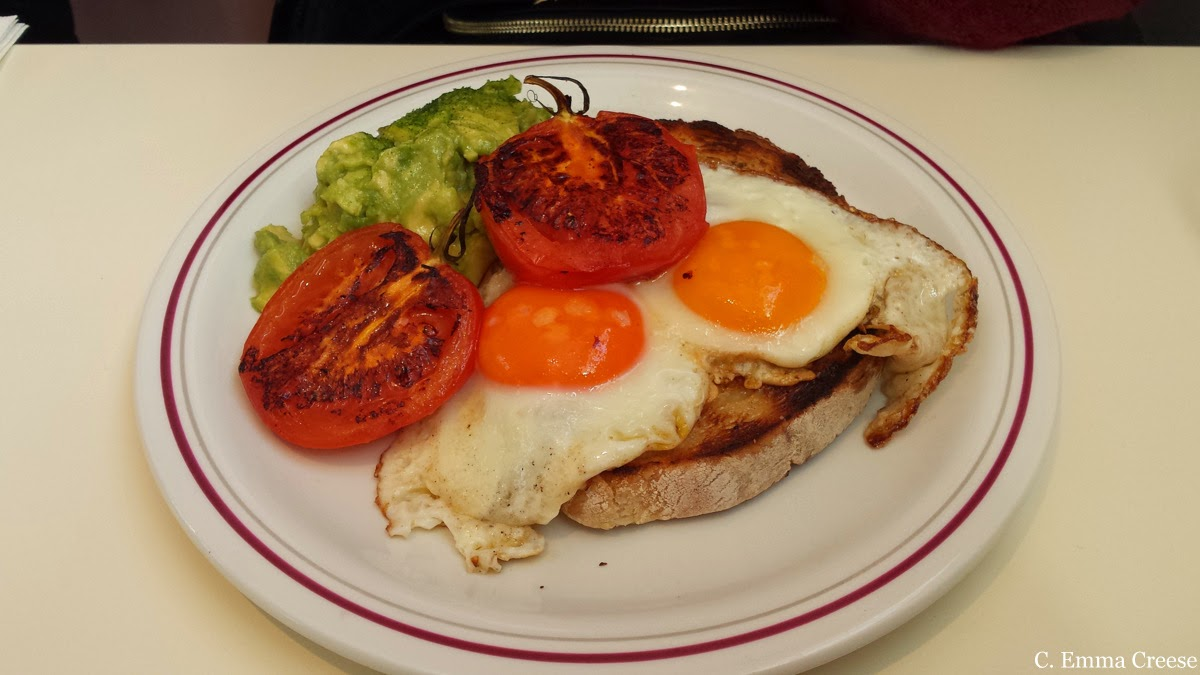 Fields Cafe - Clapham Common brunch review