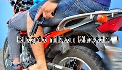 GRANITO-PE: Indivíduo da moto preta assalta mais um estabelecimento comercial