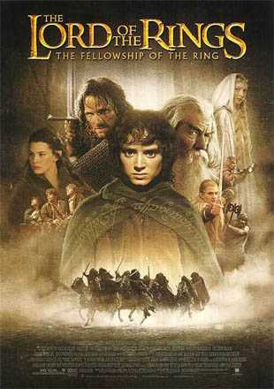The Lord of the Rings: The Fellowship of the Ring 2001 BRRip 720p Dual Audio In Hindi English