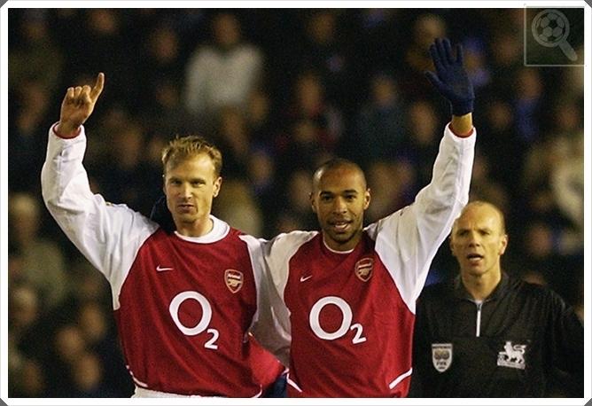 Dennis Bergkamp Thierry Henry Arsenal