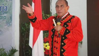 Gubernur SUMUT Edy Rahmayadi, Berkunjung Ke Nias Barat, Pemda Sambut Baik