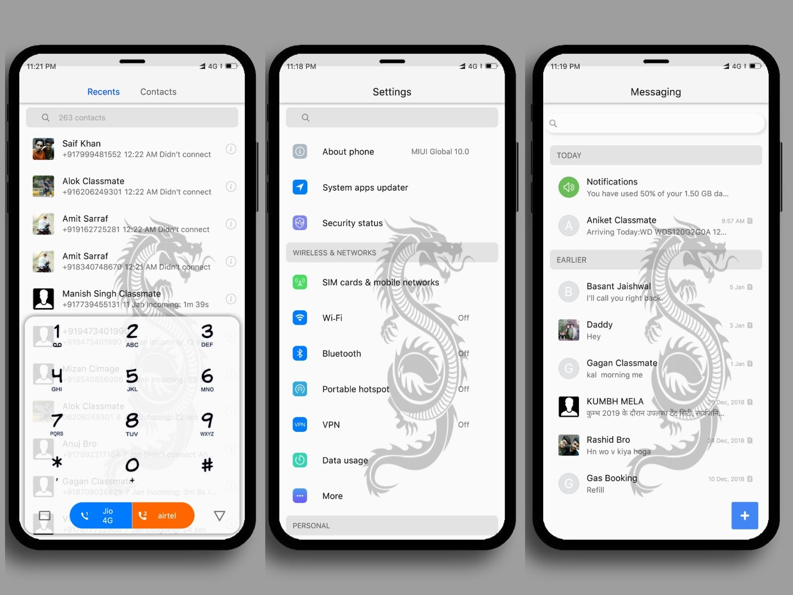 Dragon Edition MIUI Theme Download For Xiaomi Mobile || MIUI