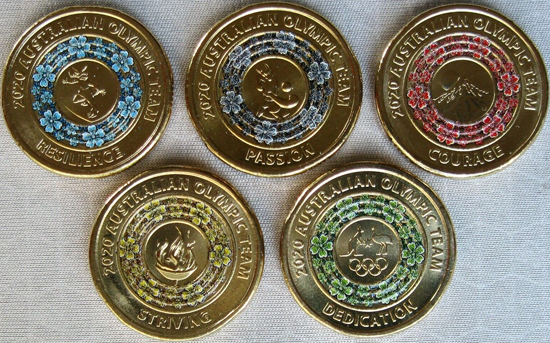 Australia 2 dollars 2020 - Tokyo Olympics