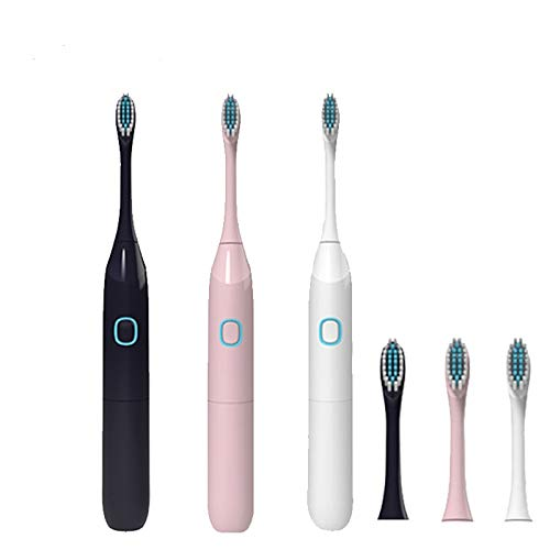 AMAZON - 80% off Electric Toothbrush IPX7 with 1 Extra Replacement Brush Heads