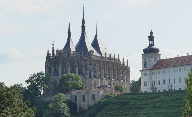 Kutná Hora - Dom der heiligen Barbara