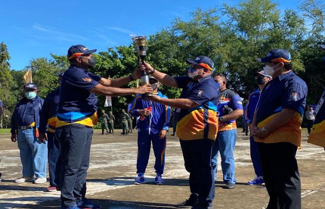 Kirab Api PON Dilepas dari Sorong ke Lima Wilayah Adat di Papua.lelemuku.com.jpg