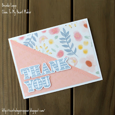 card 2 created with Happiness Lives Here and Every Thank You