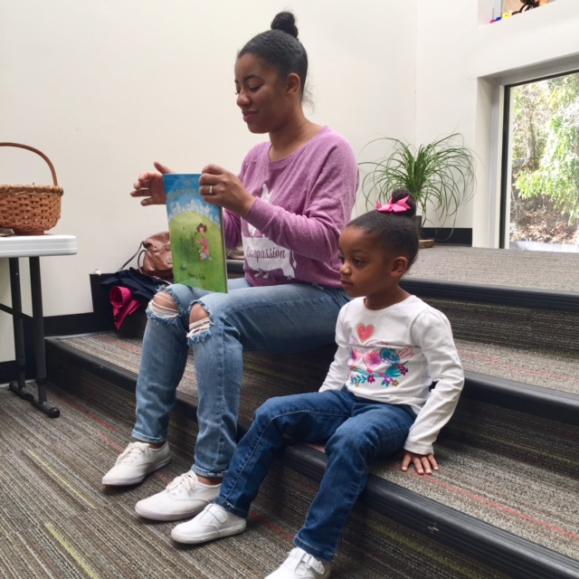 volunteer non profit reading storytime toddler preschool top atlanta black mom mommy motherhood blogger