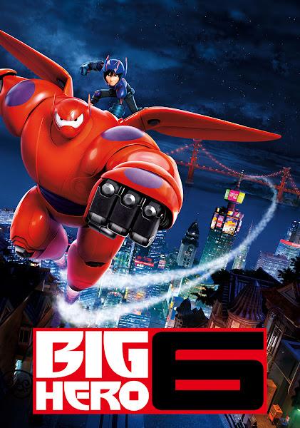 Poster of Big Hero 6 (2014) Dual-Audio [Hindi-English] 720p-BluRay ESubs Download