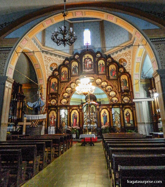 Igreja Ucraniana em Prudentópolis, Paraná