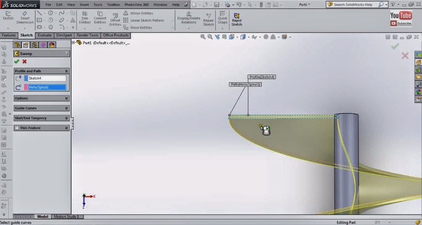solidworks tutorial solidworks auger tutorial solidworks rh solidworks99 blogspot com SolidWorks Exams Engineering Drawing SolidWorks