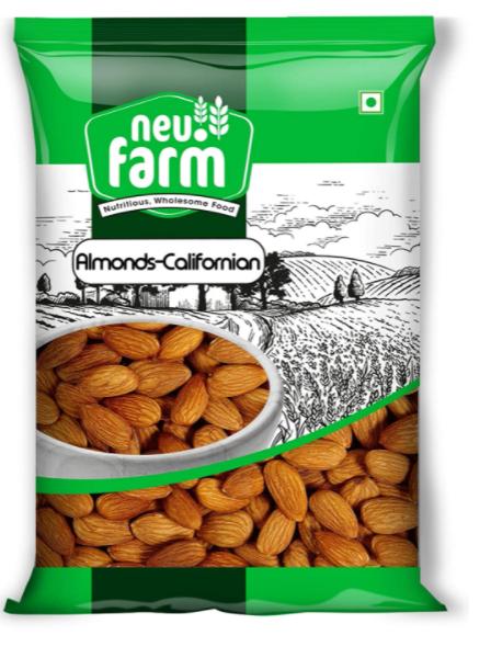 Neu.Farm - California Almonds - California Badam - Californian Almonds - 1Kg
