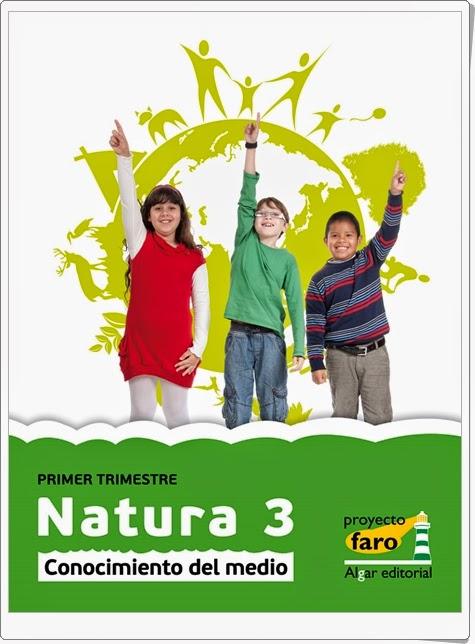 """""""Natura 3"""". Actividades digitales de Conocimiento del Medio de 3º de Primaria. Ediciones Bromera."""