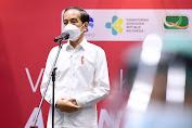 Presiden Jokowi Tinjau Vaksinasi Bagi Wartawan