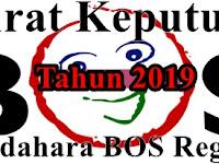 SK Bendahara BOS SD,SMP,SMA,SMK Terbaru Edisi 2019