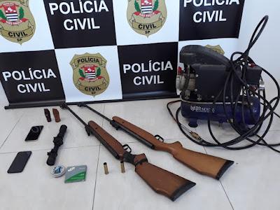 Policia Civil identifica grupo de extração ilegal de ouro em Sete Barras - OPERAÇÃO DEFENSORES DA NATUREZA