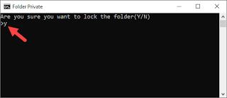 Cara Mengunci Folder Dengan Notepad Gambar 5