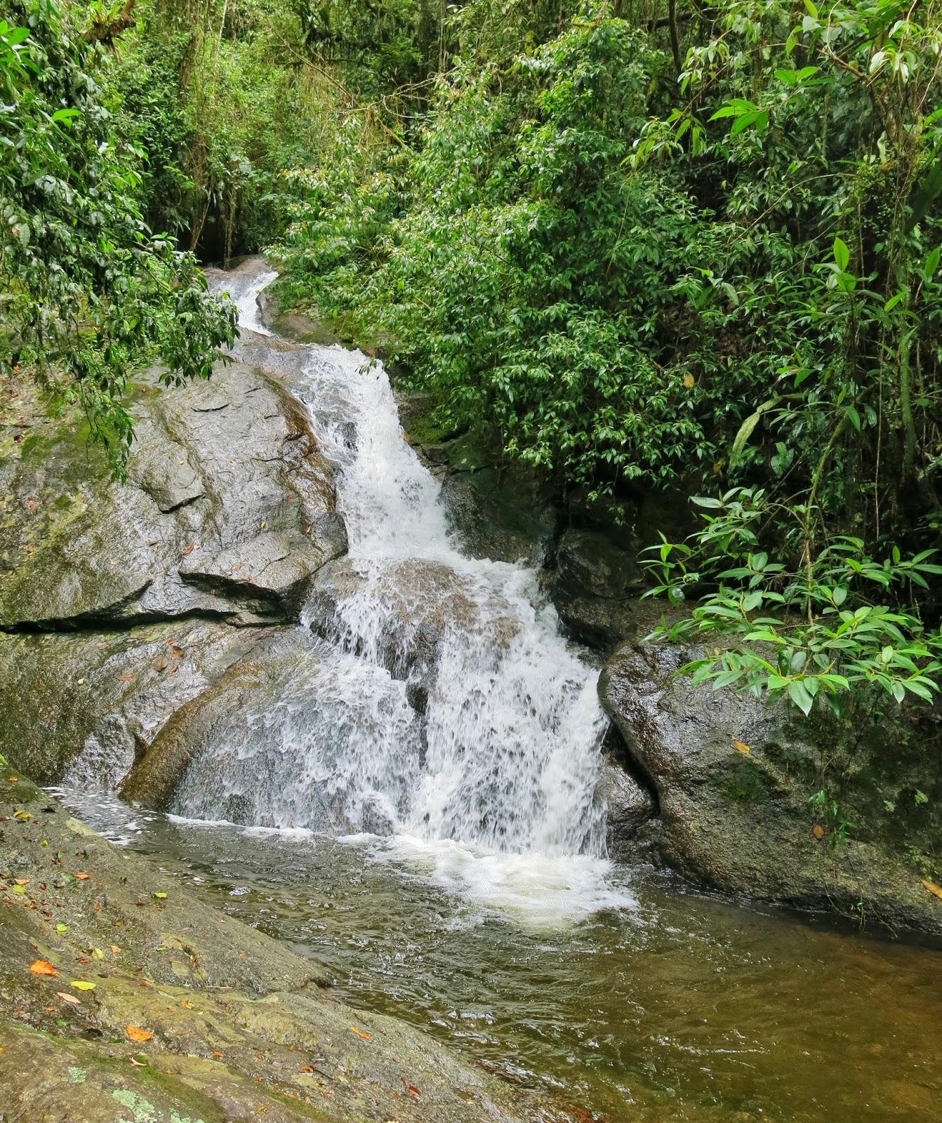 Cachoeira do Lajeado, no Vale do Alcantilado, em Visconde de Mauá.