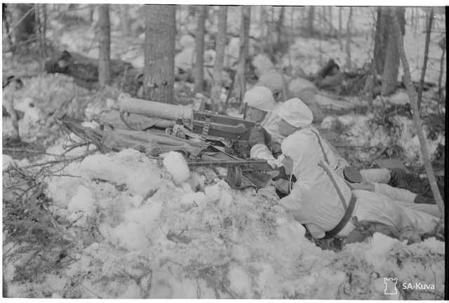 Finnish troops in action on 14 April 1942 worldwartwo.filminspector.com