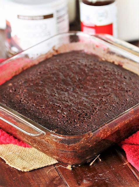 Chocolate Wacky Cake Image
