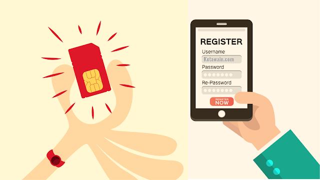 Registrasi Kartu Perdana Semua Operator