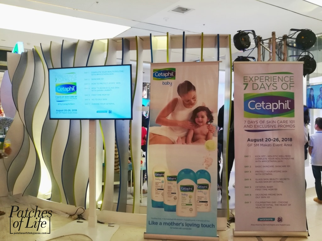 Cetaphil Aug 20 26 2018 7 Day Skin Care 101 At Sm Makati Special Package Mom And Baby Days Of Events Area Ground Floor
