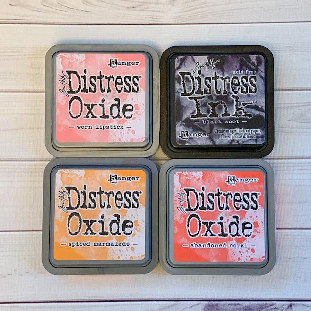 Friends card / Quietfire Design stamps / Elizabeth Craft Designs die / Ranger Distress Oxide Inks/card by Kim Gowdy