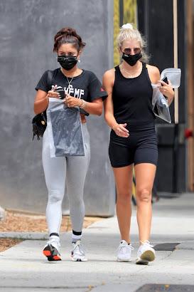 Vanessa Hudgens - In grey leggings15