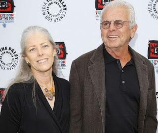 Eugenie Devane with her husband William Devane